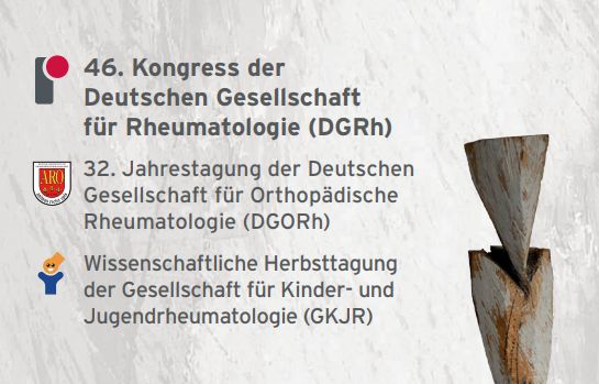DGRH 2018 – TheGerman Society for Rheumatology 46th Congress 2018